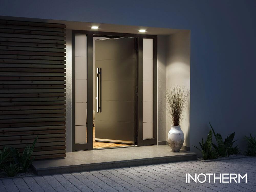 Inotherm Haustüre Vergleichsbild 2