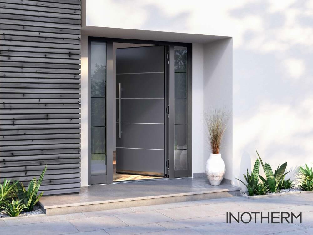 Inotherm Haustüre Vergleichsbild 1